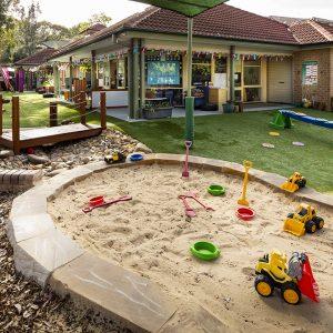 Sand Pit Kindergarten